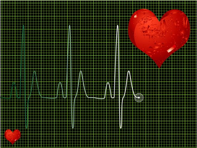 bigstock Heart Beat Green 1858324